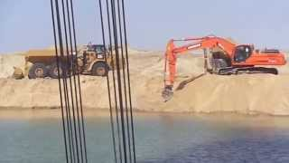 Suez Canal new: the first point joined between drilling and dredging in the area Deversoir