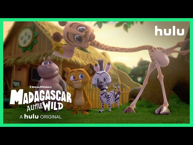 Madagascar: A Little Wild (Official Trailer) • A Hulu Original