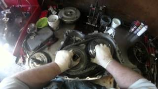 FORD escape / MAZDA CD4E AUTOMATIC TRANSMISSION TEARDOWN