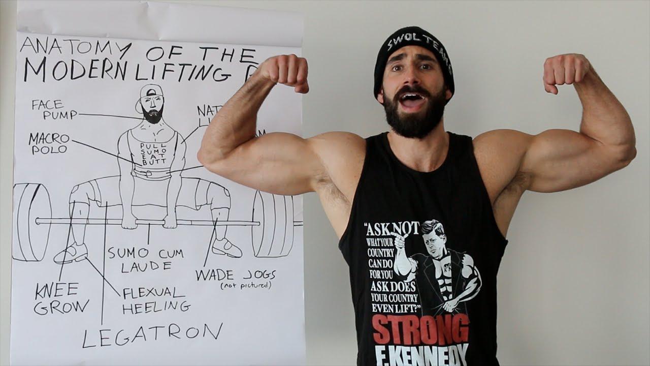 Anatomy Of The Modern Lifting Bro Youtube