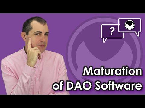 Ethereum Q&A: Maturation of DAO Software
