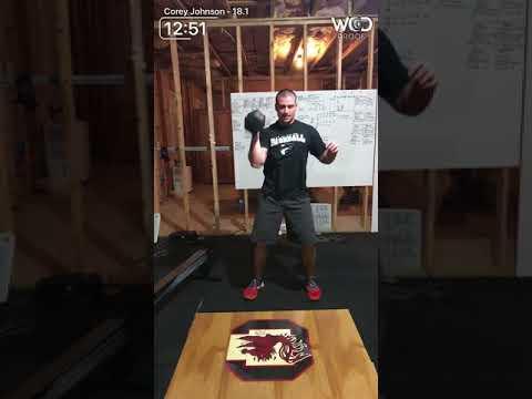 Corey Johnson 18.1 - 249 reps