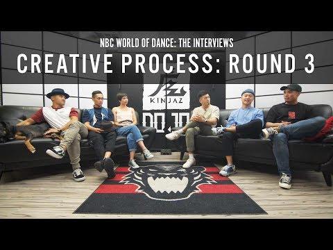 "NBC World of Dance - The Interviews Ep. 4 ""Creative Process: Round 3"""