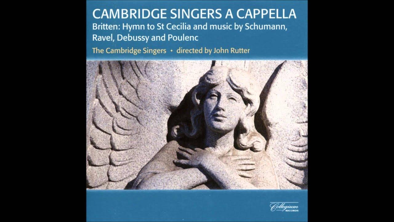 Amazon.com: Hymn to St. Cecilia+Benjamin Britten