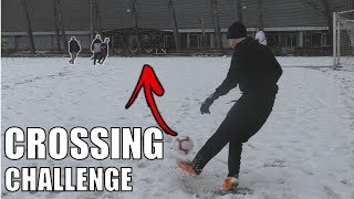 WINTER CROSSING CHALLENGE! w/FiFqo, Pewdiepie, Chipy, Fallen