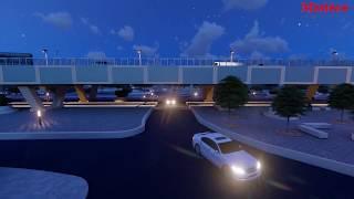 Vidéo 3D Flyover Autopont Cité Keur Gorgui