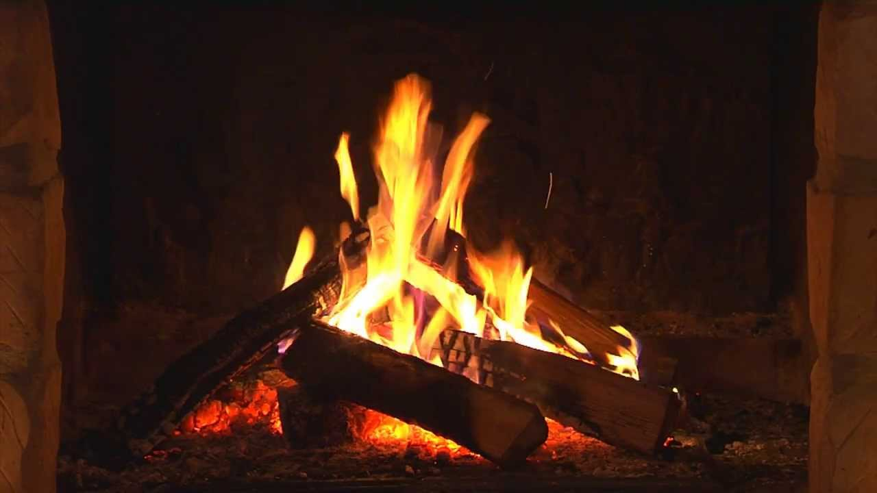 Feu de chemin e hd 1080p youtube - Photo feu de cheminee ...