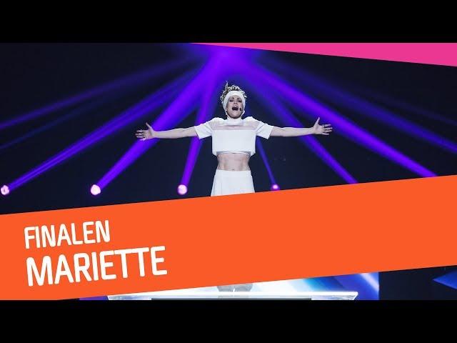 FINAL: Mariette – For You | Melodifestivalen 2018