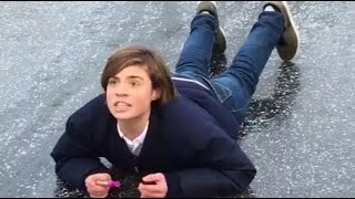 Ultimate breaking ice fail compilation of 2017 - winter fails & wins