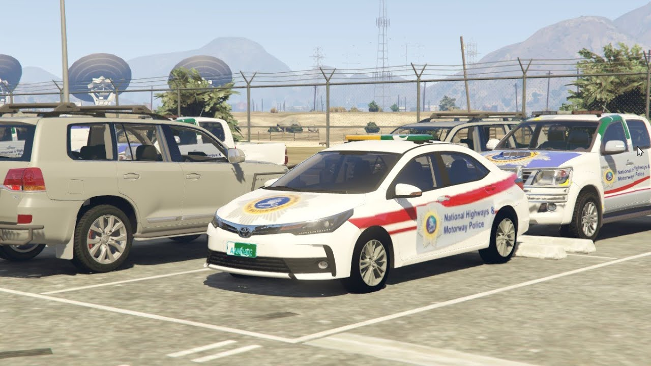 #72 | Motorway Police All Cars | Visit to Highway Police Station | Gta 5 Pakistan