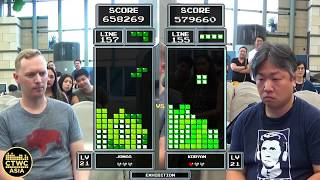 TETRIS SHOWDOWN IN HONG KONG: JAPAN VS. USA