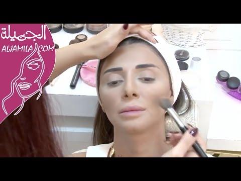 3d7e3c0da بالصور وبالخطوات: هكذا تطبقين الكونتور حسب شكل وجهك   مجلة الجميلة