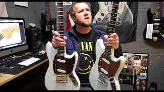 Squier MUSTANG Classic Vibe Vs Vintage Modified