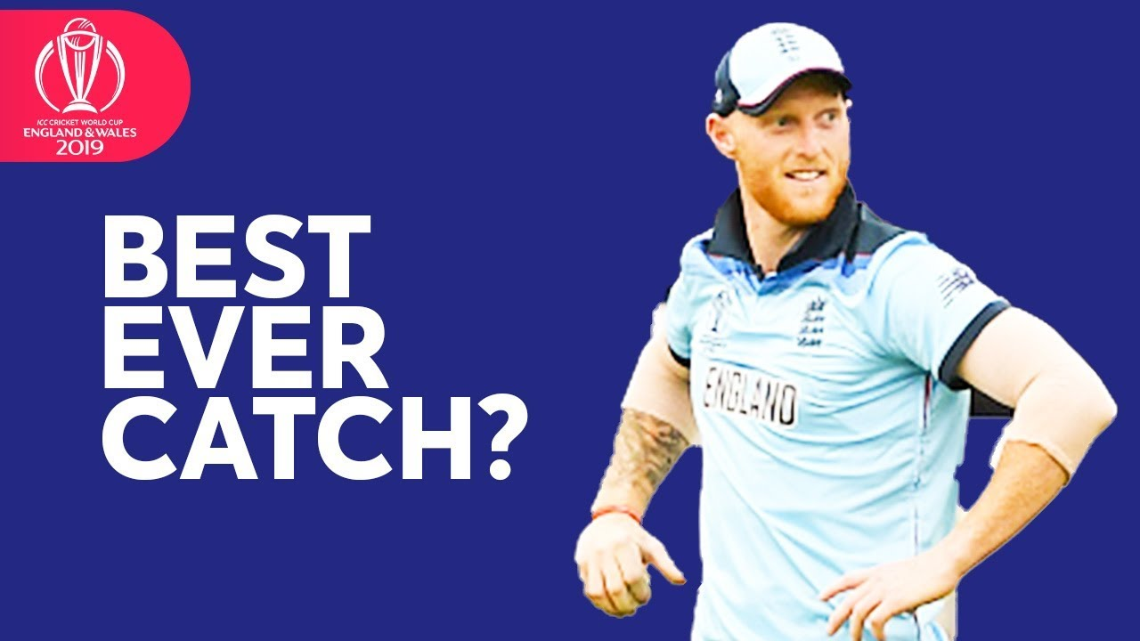 Ben Stokes Takes A SUPER-HUMAN Catch! | ICC Cricket World Cup 2019