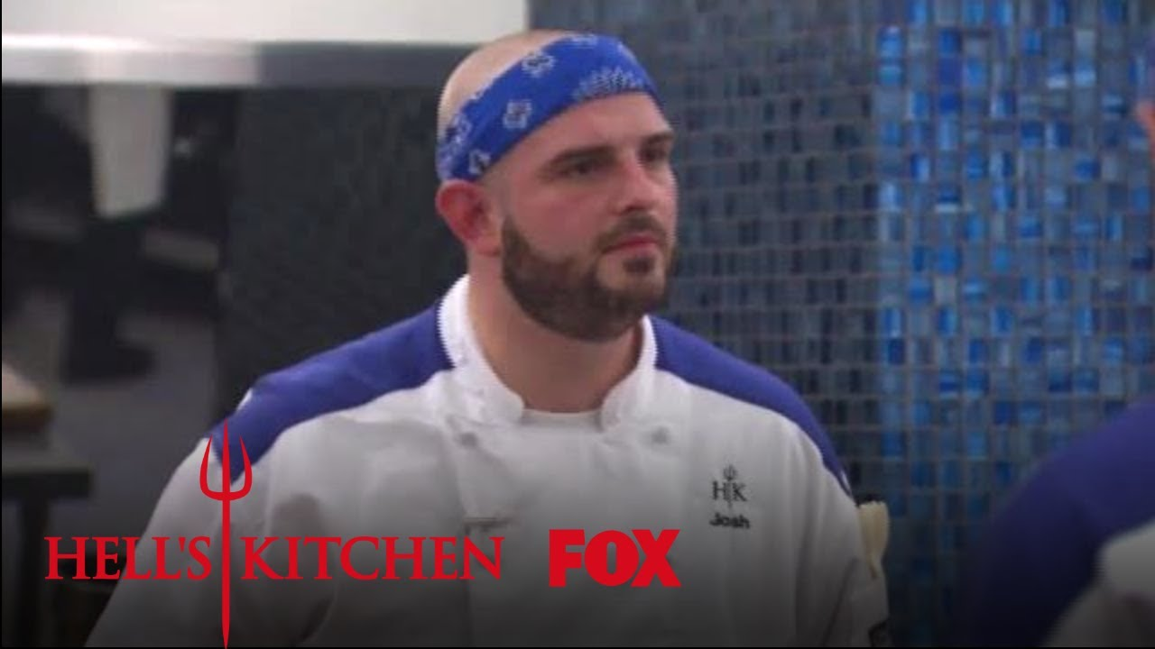 Chef Ramsay Makes Josh Eat Risotto With A Customer Season 17 Ep 4 Hell S Kitchen All Stars
