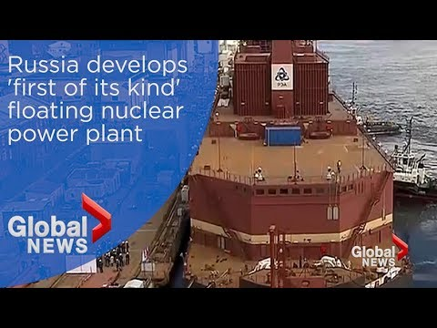 Russia develops 'first of its kind' floating nuclear power p