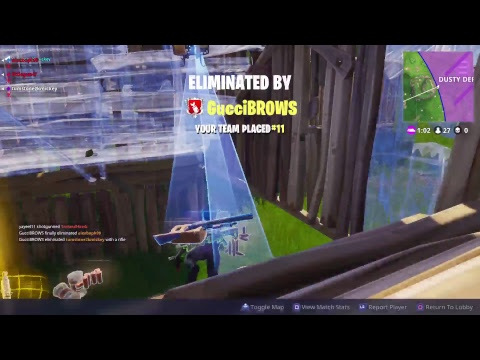Fortnite Battle Royal streaming test #011
