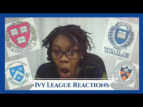 Emotional College Decision Reactions: HARVARD, YALE, PRINCETON, COLUMBIA & UPENN 2017