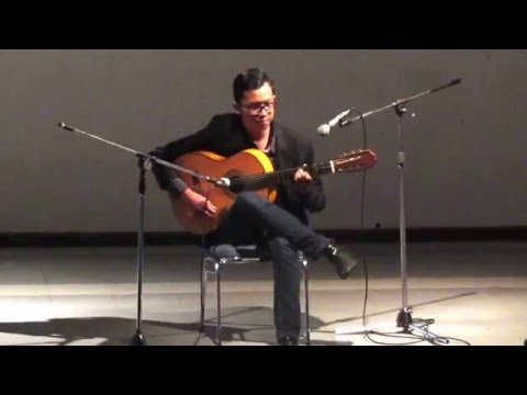 Indonesian Flamenco Guitarist