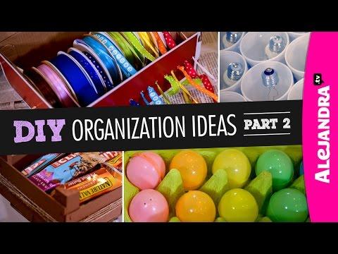 DIY Organization Ideas (Part 2)