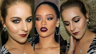 Rihanna Inspired Sultry Fall Makeup 2015