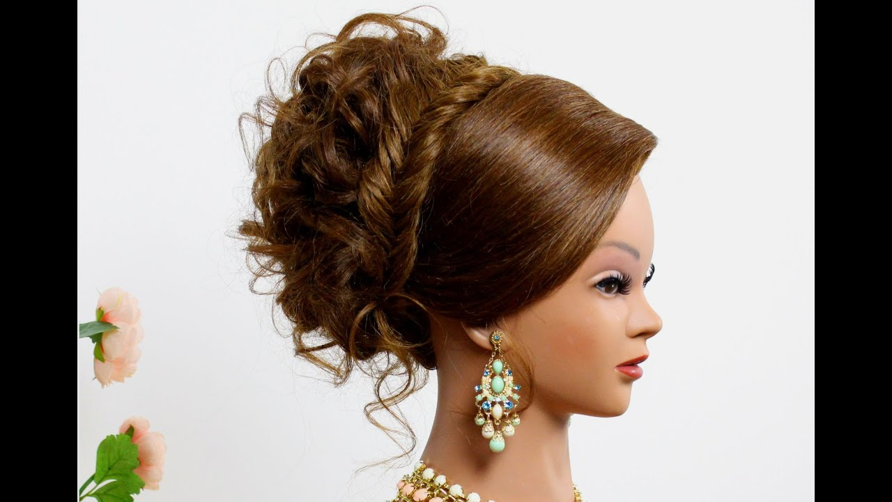 Hair Styler H Twom: Hairstyle For Long Hair. Bridal Updo With Braid