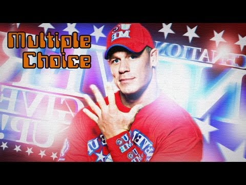Noch ein Exklusiv-Interview mit WWE-Superstar John Cena! (Multiple Choice)