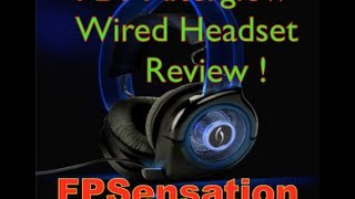 PDP Wired Afterglow Headset Review - Xbox 360 (Blue)