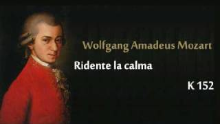 Mozart K.152 Ridente la calma.wmv
