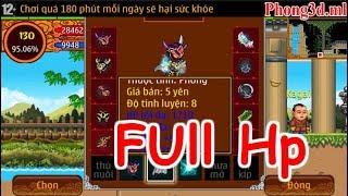 Ninja School Online: Khi Đao 130 Cộng FULL HP Thiên Địa Bảng ✓