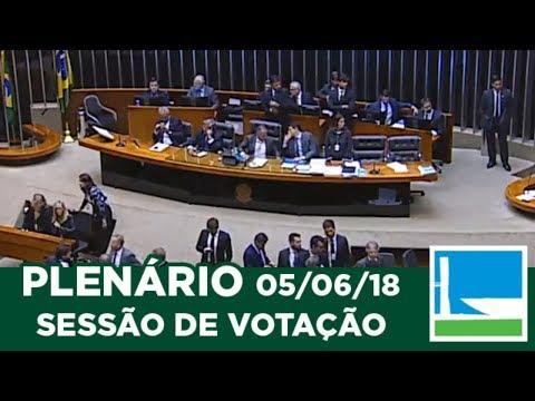 PLENÁRIO - Sessão Deliberativa - 05/06/2018 - 19:22