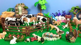 Farm Animals Toys for Kids Babies - Horse Dog  Cow- Learn Animal Sounds and Sounds