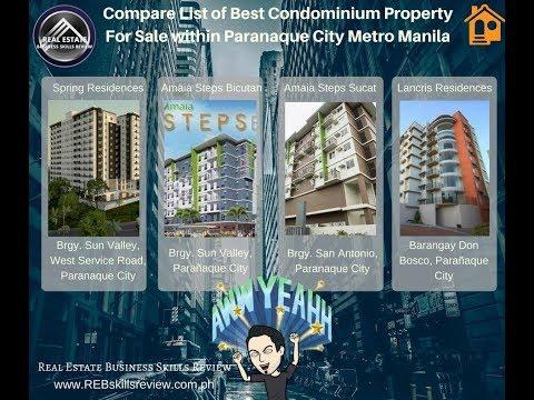 List of Top Paranaque Metro Manila Philippines Properties For Sale