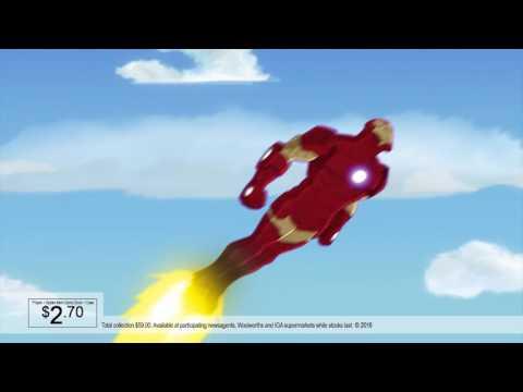 News Corp Marvel TVC
