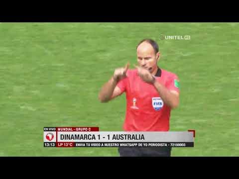 Mundial, Grupo C: Dinamarca 1 - 1 Australia