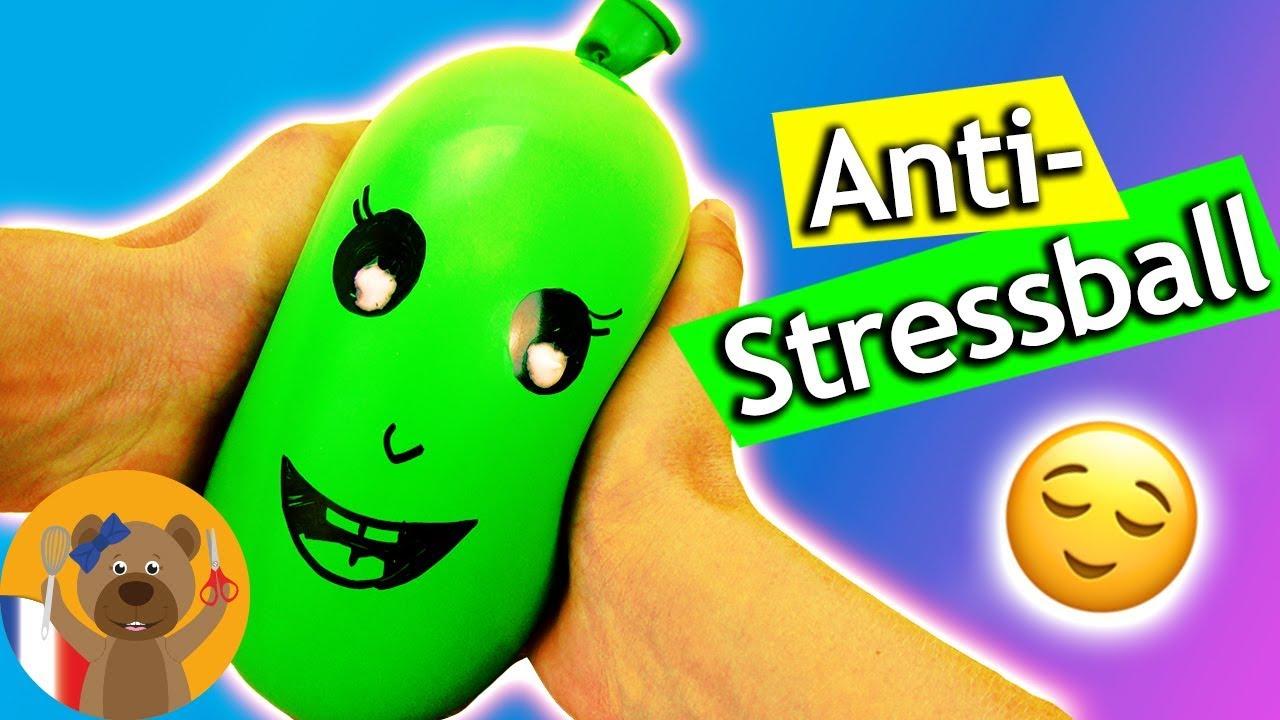 Balle Anti Stress à Faire Soi Même En 1 Minute Sans Slime Ni Colle 1 Ingrédient Rapide Simple