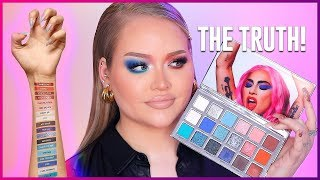 LADY GAGA Stupid Love Palette REVIEW! OMG! | NikkieTutorials
