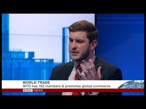GRI Analyst James Tunningley discusses Sino-US Trade Relations on BBC World