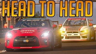 Gran Turismo Sport: My Best Head to Head Battle