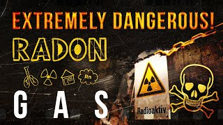 ☢ Radon gas. Extremely dangerous concentration in the old Uranium Mine