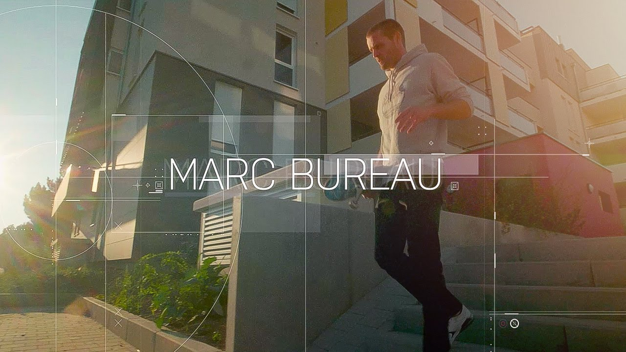 Skateboarding in strasbourg ft. marc bureau youtube