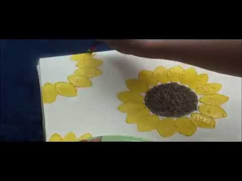 DIY - Toilet Paper Roll Sunflowers