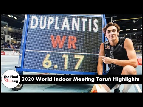 Mondo Duplantis 6.17m World Record | Gudaf Tsegay 4:00.09 | 2020 Indoor Meeting Toruń