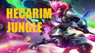 League of Legends - Arcade Hecarim - Full Game Commentary