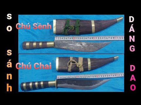 DAO MÈO   Zalo 0976800128   Phân tích sự khác nhau giữa dáng dao chú Sềnh và chú Chai • Tập 4