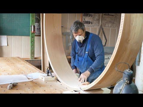 Столярный Этюд #1 / Вишнёвая Арка / Деревообработка /  Woodworking / Cabinetmaker / Craft