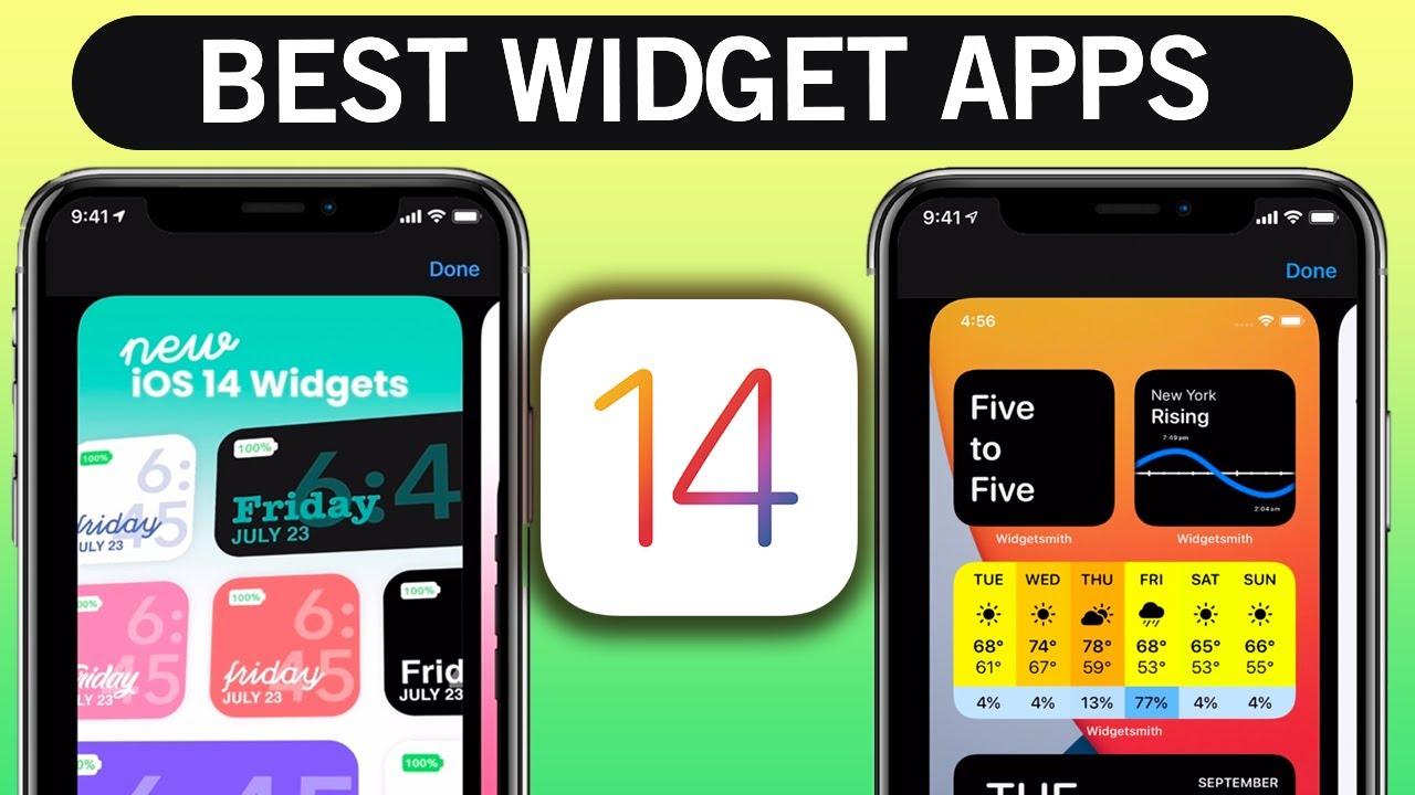add iphone widgets