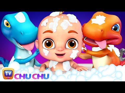 Bath Song | Let's take a Bath | ChuChu TV 3D Nursery Rhymes & Songs for Babies - วันที่ 26 Sep 2018