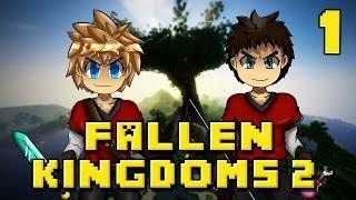 Fallen Kingdoms : Poison Paradise | Jour 1 - Minecraft