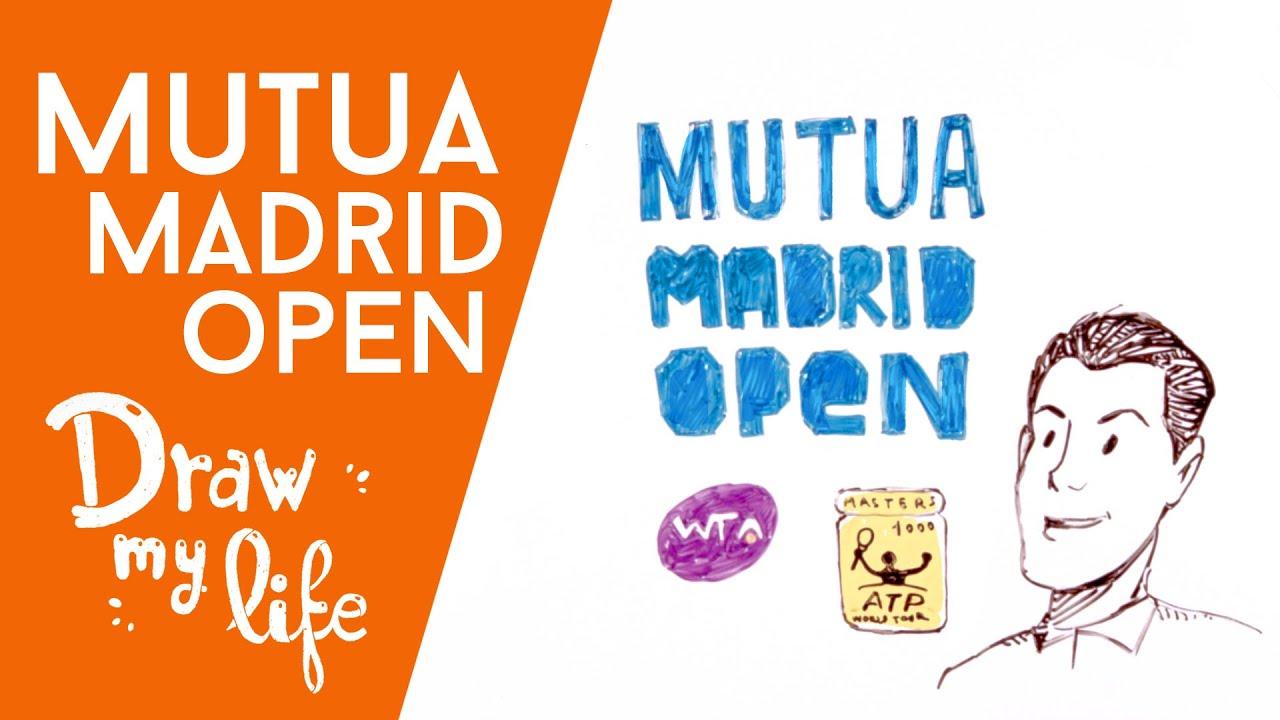 La historia del MUTUA MADRID OPEN - Draw My Life